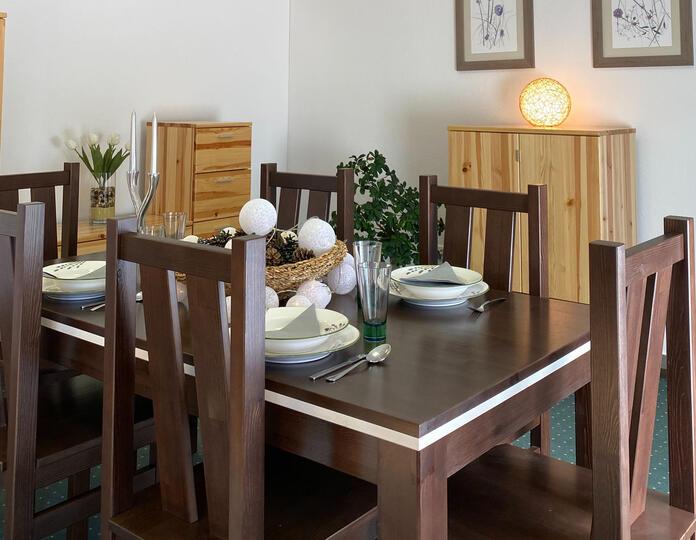Nobis bővíthető étkezőasztal