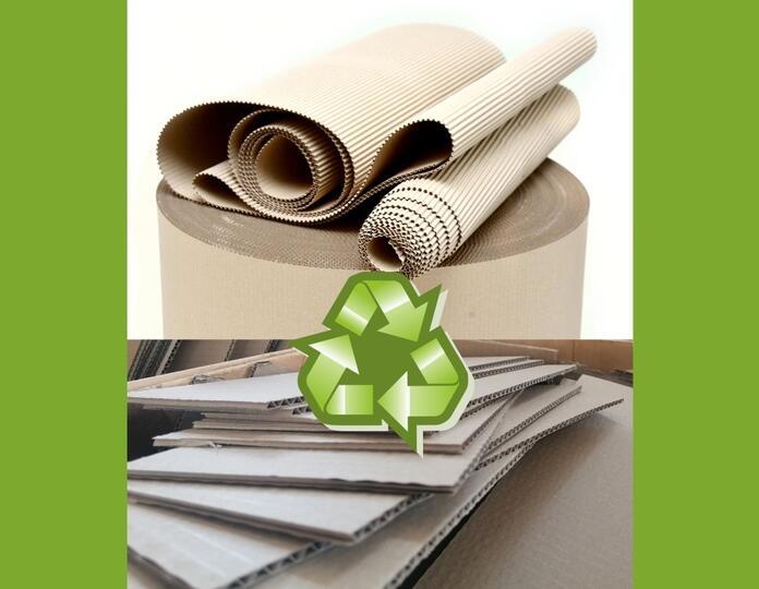 Újrahasznosítható csomagolóanyag