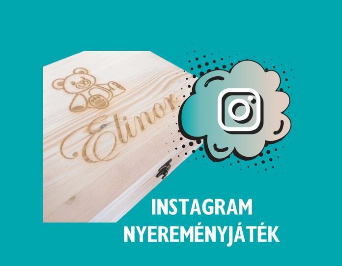 Instagram nyereményjáték